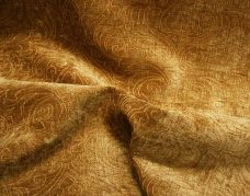 Indian Damask Chenille - Gold
