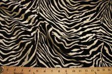 Zebra Chenille - Black