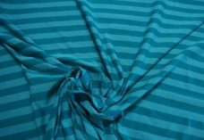 Turquoise Stripe Spandex