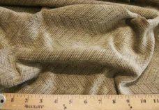 Herringbone Textured Chenille - Taupe