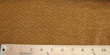 Herringbone Textured Chenille - Gold