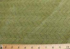 Herringbone Textured Chenille - Moss