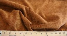 Herringbone Textured Chenille - Copper