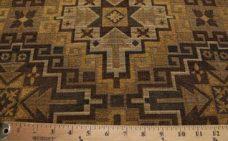 Large Aztec Chenille - Brown