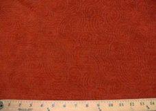 Swirl Textured Chenille - Paprika