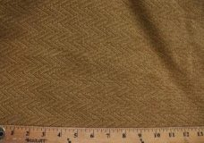 Herringbone Textured Chenille - Dark Gold
