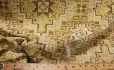 Large Aztec Chenille - Beige
