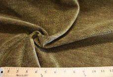Swirl Textured Chenille - Olive