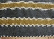 Ethnic Stripe Chenille - Pewter
