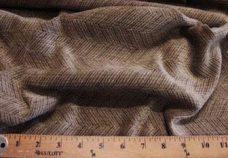 Herringbone Textured Chenille - Mushroom