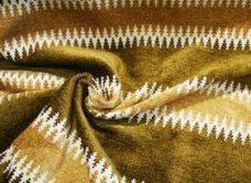 Ethnic Stripe Chenille - Chestnut