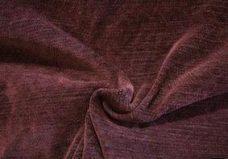 Herringbone Textured Chenille - Mahogany