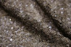 Grunge Mini Sequin Mesh - Earth