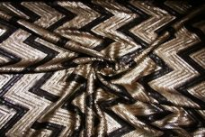Sequin Chevron Spandex