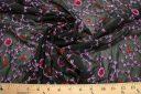Flourish Sequin Chiffon - Black