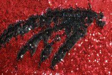 Reversible Sequin - Red & Black