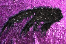 Reversible Sequin - Purple & Black