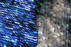 Reversible Sequin - Mermaid & Matte Black