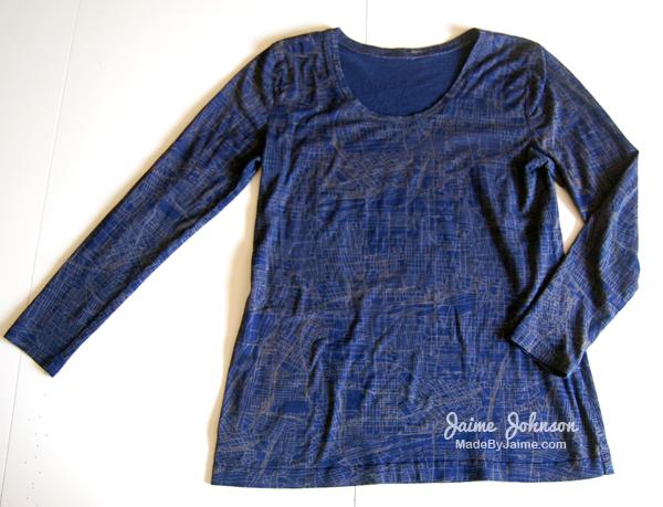 Basic T-Shirt MadeByJaime | TheFabricMarket.com