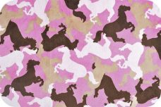 Horse Camo- Hot Pink