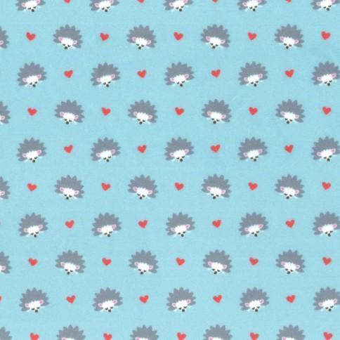Hedgehog Heaven - Aqua