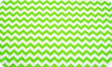 Small Chevron - Neon Green