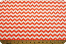 Small Chevron - Neon Orange