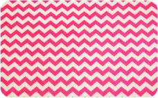 Small Chevron - Neon Pink