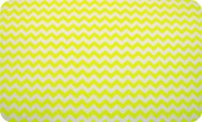 Small Chevron - Neon Yellow