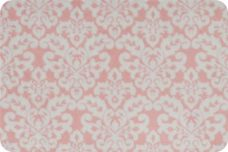 Damask #1 - Blush & White