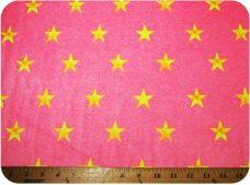 Denim Stars - Neon Pink