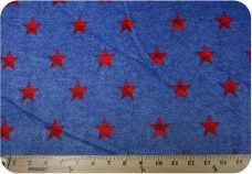 Denim Stars - Red