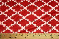 Moroccan Tile - Scarlet