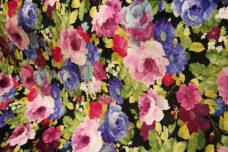 Lavender Floral Minky