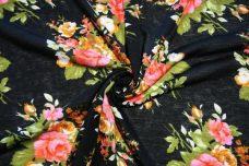 Pink Floral Knit