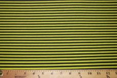Small Stretch Knit Stripe - Wasabi & Navy