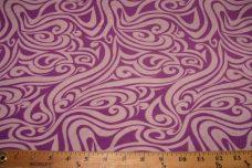 Purple Tribal Swirl Jersey