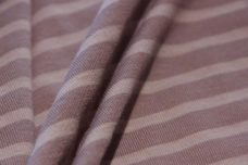 Lightweight Stripe Jersey - Dusty Lavender