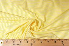 Mini Stretch Jersey Stripe - Yellow