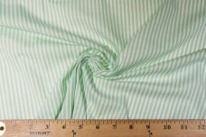 Mini Stretch Knit Stripe - Mint
