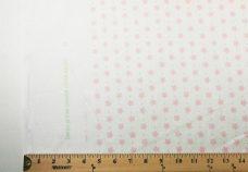 Peach Polkadot Rayon/Linen Blend