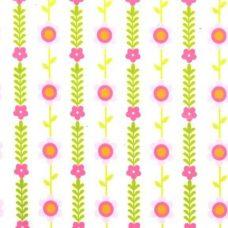 Mod Blossoms Minky