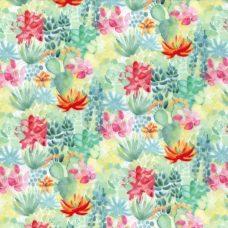 Succulent Garden Minky