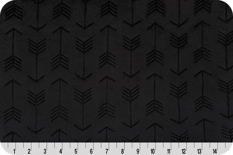 Embossed Arrows - Black
