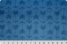 Embossed Arrows - Bluebell