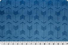 Embossed Arrows - Bluebell