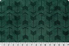 Embossed Arrows - Evergreen