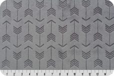 Embossed Arrows - Graphite