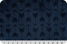 Embossed Arrows - Navy