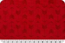 Embossed Arrows - Scarlet